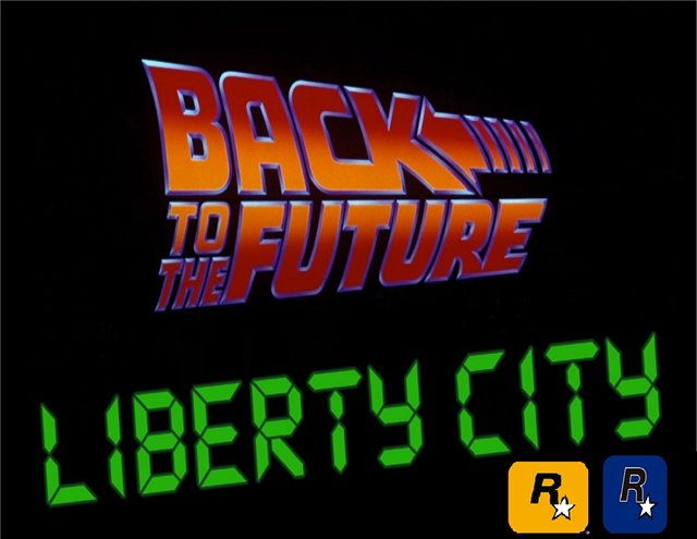 Мод Back to the Future: Liberty City для GTA 3!