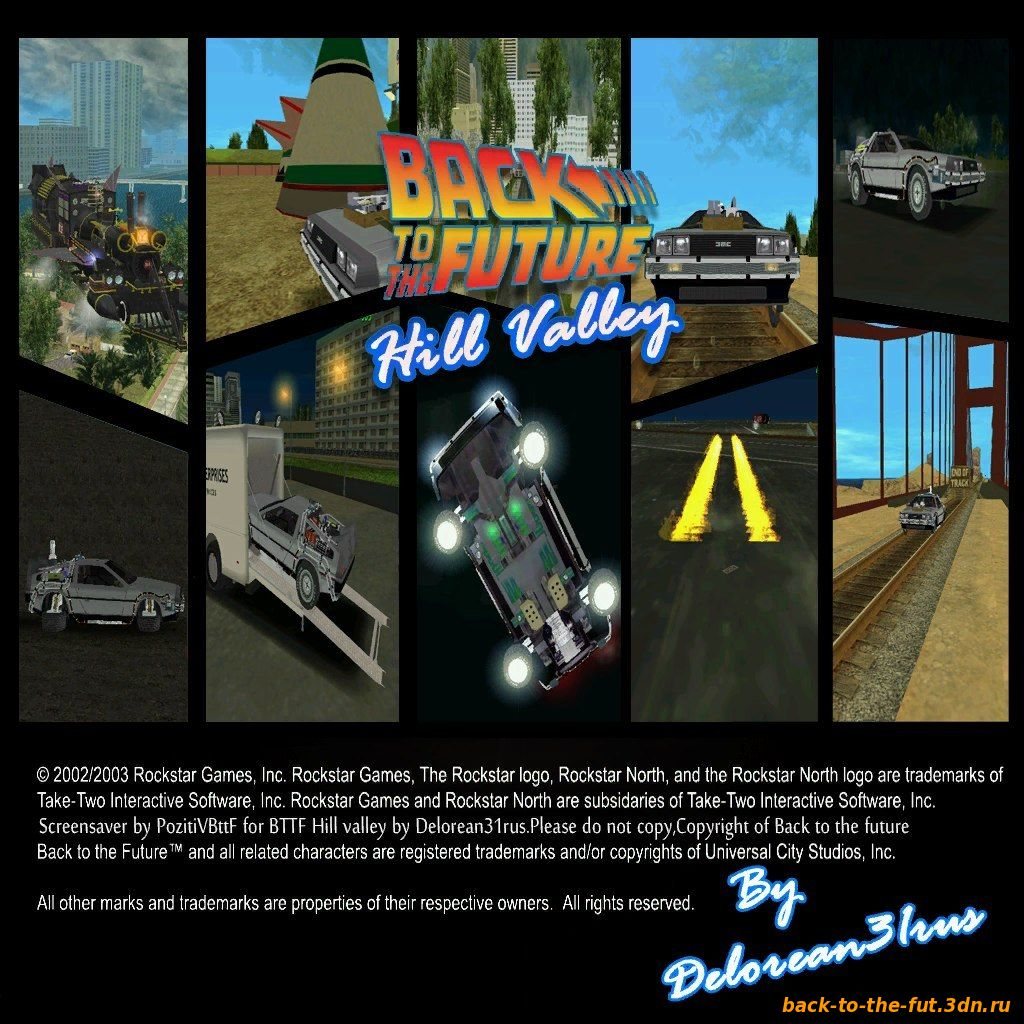 Back To The Future Hill Valley v0.2 by DeLorean31rus