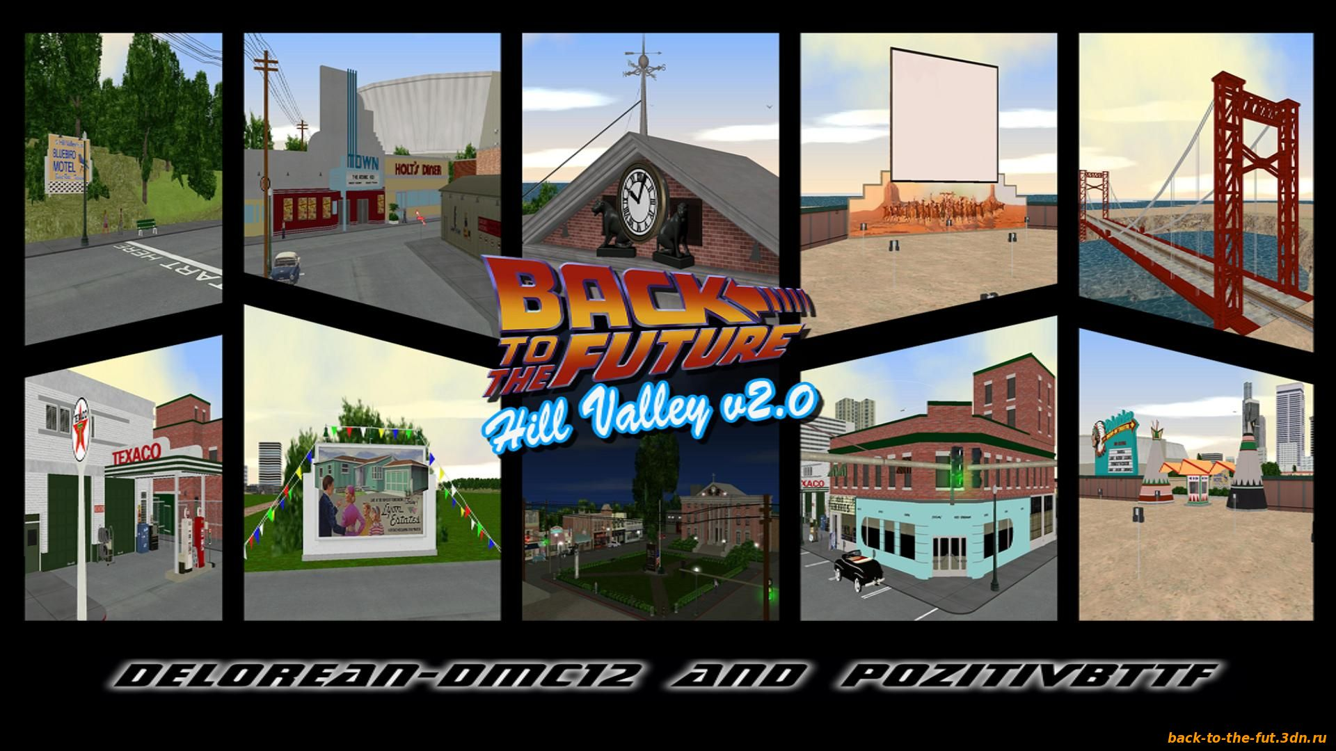 GTA Vice City BTTF Hill Valley 0.2e rus v2.0 by Delorean-DMC12 and PozitiVBttF